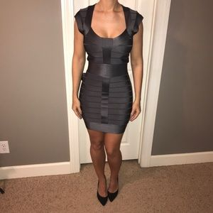 NWOT French Connection Dress Size 4 - Grey